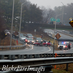 Crash With Ejection - Ex 38 ramp, Milford, CT - 2/13/20