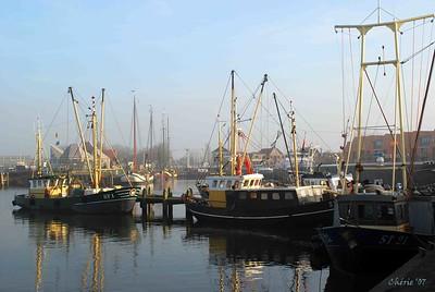 Fishery boats