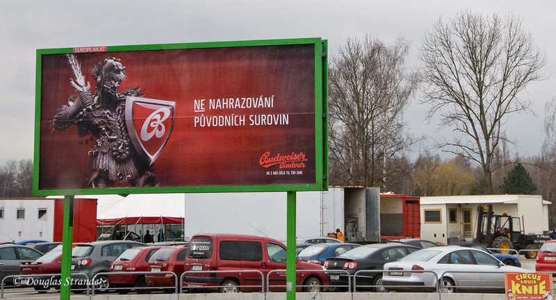 Bud Billboard, Czech Republic