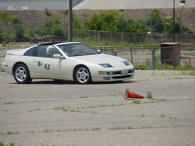 Akron Sports Car Club Autox  - 1 June 2003
