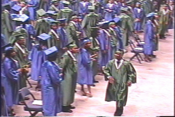 Erik D'Andre Smith's Graduation