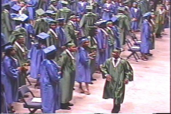 Erik D'Andre Smith's Graduation