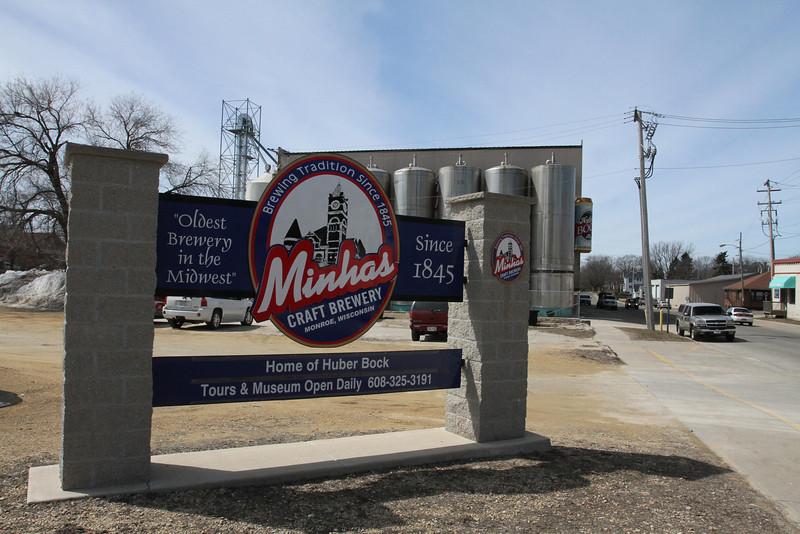Minhas Craft Brewery brews for dozens of brands including Huber.