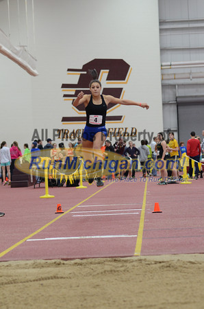 Boy's and Girl's Triple Jump - 2013 MITS State Meet