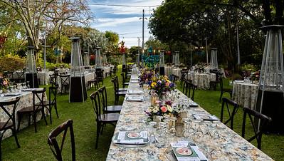 Selby Gardens, 2021 Garden to Plate Dinner