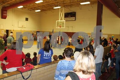 2015 Devine Elementary Veterans Day Ceremony