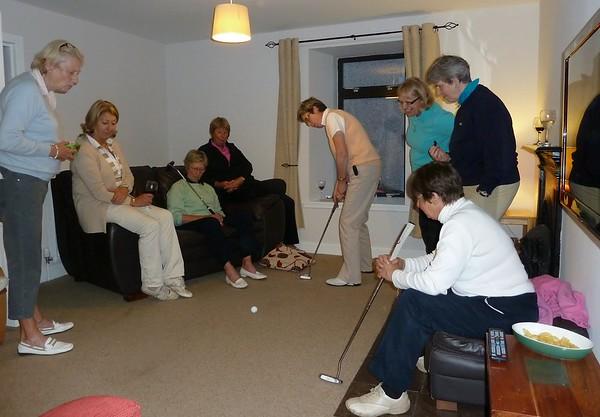 2011 Seniors Practice Round and Putting