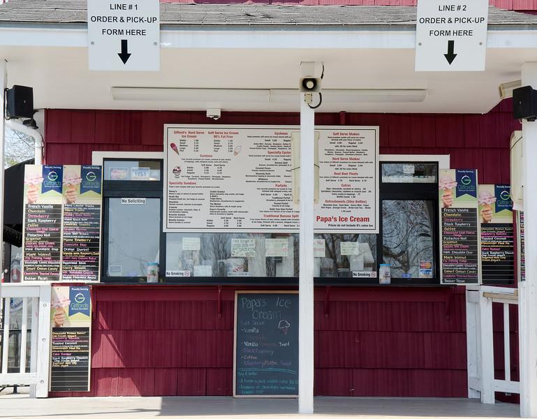 Papa's Ice Cream shop in Standish.