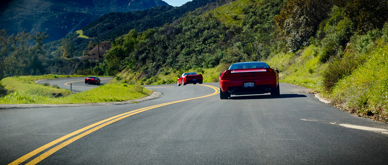 2019 02/17: NSX Day @ Supercar Sunday, Malibu Canyon Drive, Lavaggio Brunch