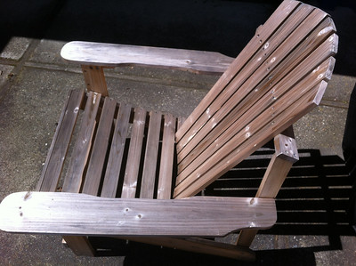 The Adirondack Chair Project