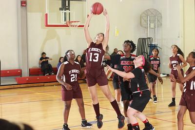 Middle Div 2019 Girls Basketball v Elizabeth