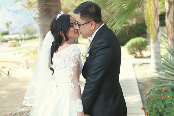 Agnes + Virro | Palm Spring Wedding