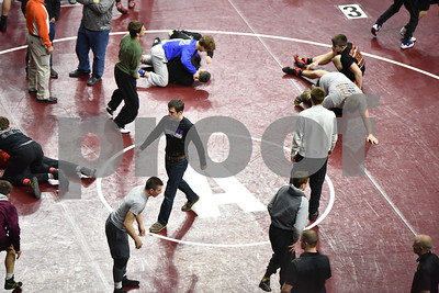 2016 State Wrestling 1A 2A 3A Consolation Semifinals