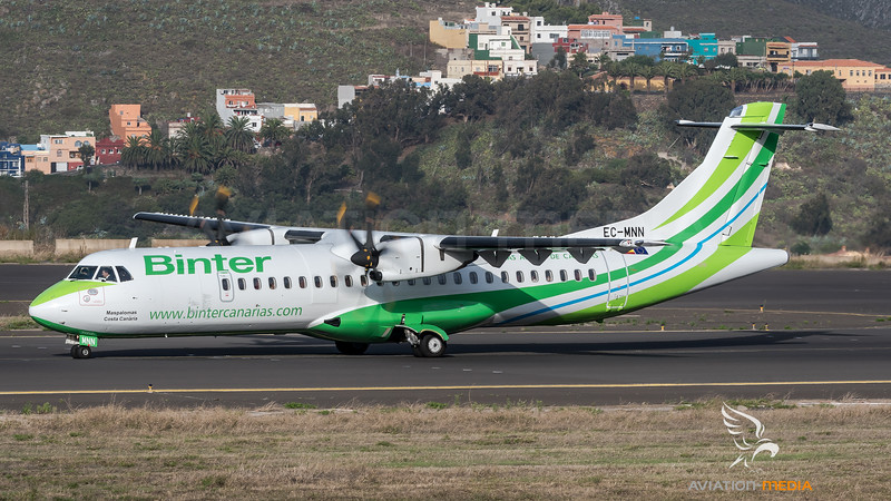 Binter Canarias / ATR 72-600 / EC-MNN