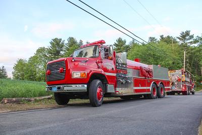 Brush Fire- Fletcher Street, Dunstable, MA- 5/29/20