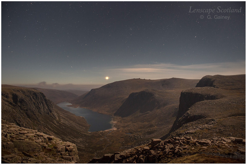 Loch Avon from Feith Buidhe, Cairngorms