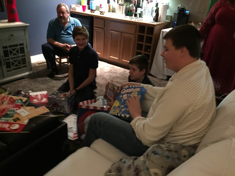 Cousins 18 and under gift exchange