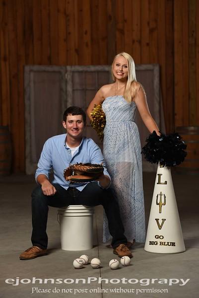 Olivia & Griffin Hoco campaign