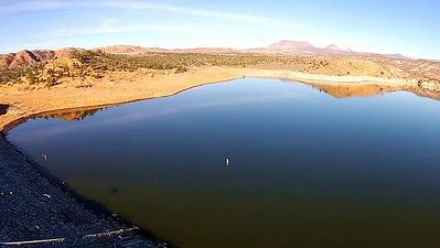 Gunlock Reservoir near St. George, Utah
