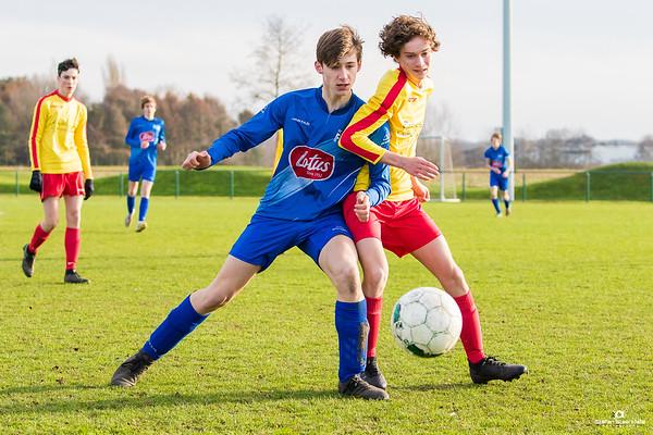11/01/2020: U17P KVV Laarne-Kalken - FC Lembeke
