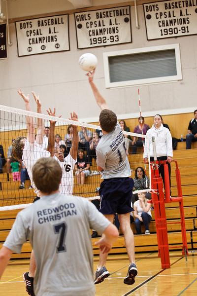 RCS Varsity Boys' Volleyball vs Valley - Semifinals - May 12, 2011