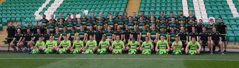 Northampton Saints vs Nottingham Rugby, Pre-season Friendly, Franklin's Gardens, 17 August 2017