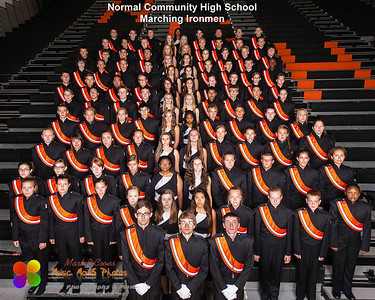 The NCHS Marching Ironmen of 2013-2014