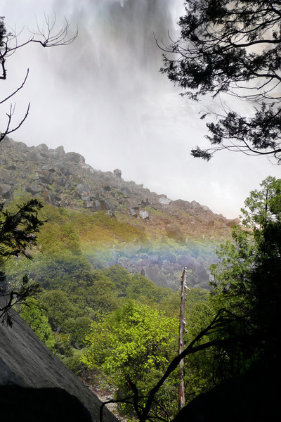 Upper Yosemite Fall. Yosemite Falls Trail, Yosemite NP