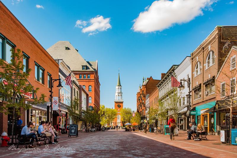 Church Street, Burlington, Vermont
