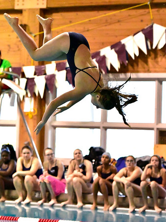 9/25/2018 Mike Orazzi | Staff Bristol Eastern's Alexsia Newman during Tuesday's swim meet with Windsor in Bristol.