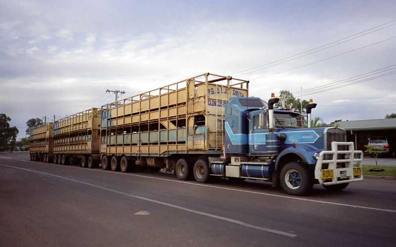 Kenworth Road Train