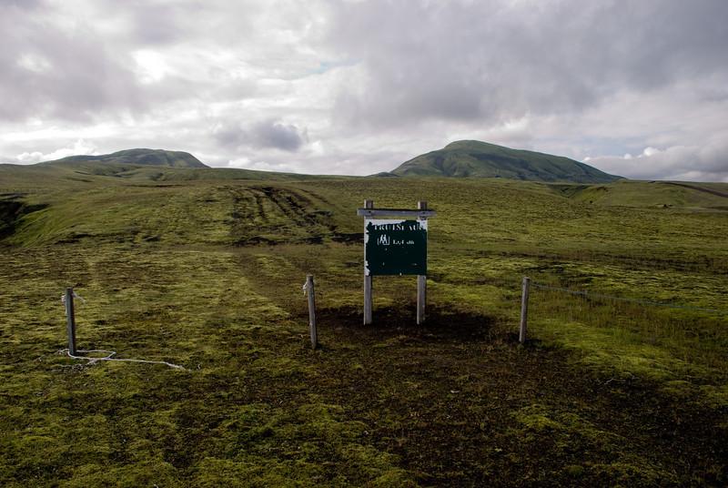 Gamli jeppaslóðinn er lokaður