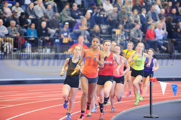 Girls' 4x800 Relay Gallery 1 - 2018 MITS State Meet