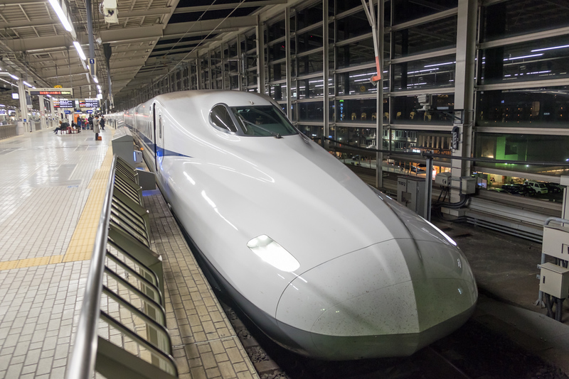 Shinkansen high-speed bullet train. Photo Credit: Wuttisit Somtui/Shutterstock.com
