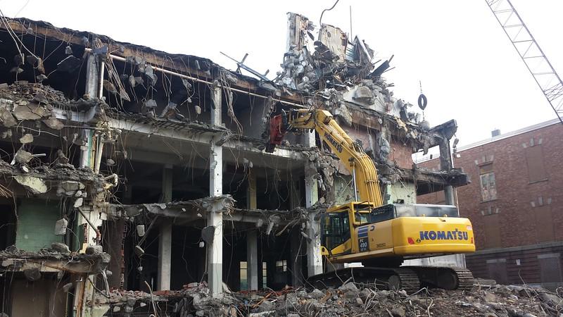 NPK U45JR concrete pulverizer on Komatsu excavator - commercial demolition (2).jpg