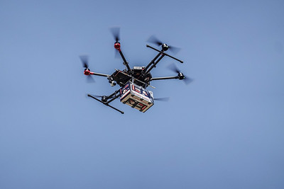 Drone Managed Airspace Demonstration in Tel Aviv
