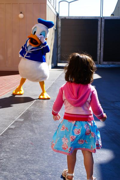 Farewell Mr Donald! Disneyworld, Anaheim, CA - March 2007