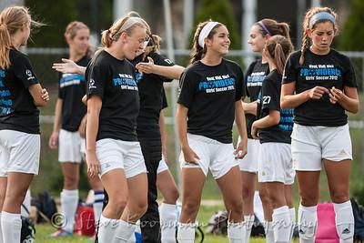 2012 PHS Girls Soccer vs Mercy