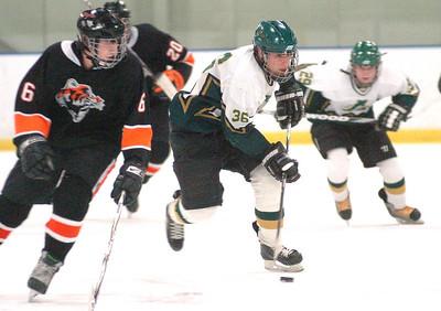 Amherst vs. Chagrin Falls hockey