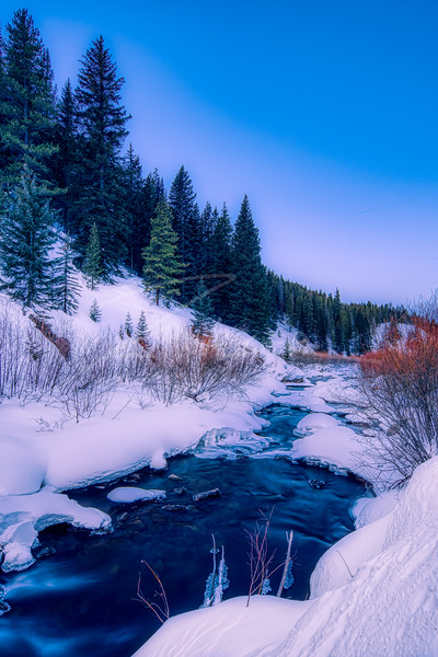 cool and calm Eagle River