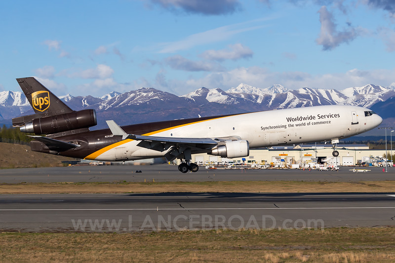 UPS MD-11F - N293UP - ANC