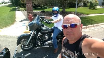 Ride with Josh.