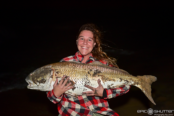 April 18, 2019 Red Drum Fishing, Cape Point, Buxton, North Carolina, Cape Hatteras National Seashore, Fishing, Fisherman, Anglers, Rod and Reel, Surf Fishing, Epic Shutter Photography, Epic Fishing, Outer Banks Photographer, Documentary Photographer, OBX,