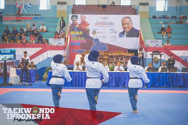Kejurnas Taekwondo 2017 Day 1