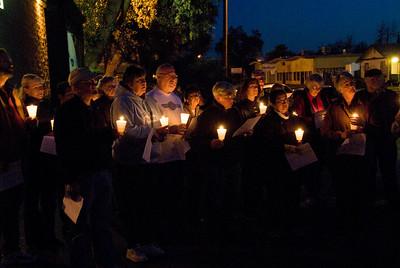 Washington School Neighborhood Concerned Citizens Candlelight Prayer Walk 3-31-2008