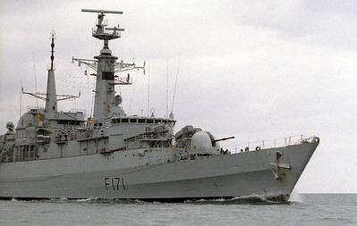 Royal Navy, Portland, 1990