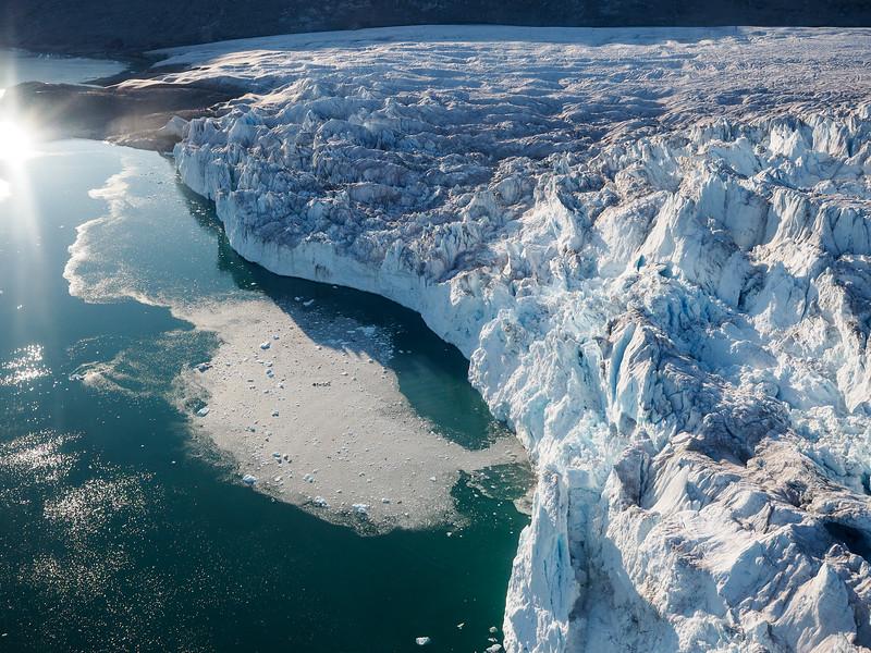 Face of Sermeq Avangnardleq, the Northern Glacier