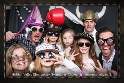 2016 Hidden Valley Sweetheart Dance