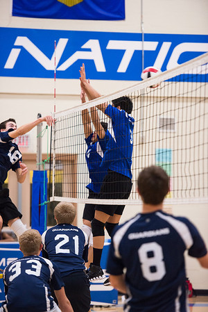 20131031 Sr Boys Volleyball