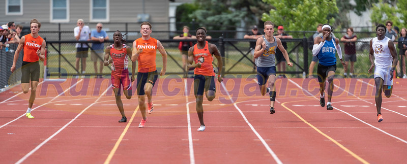200M Finals Boys Gallery 1 - 2021 MHSAA LP T&F Finals - DIVISION ONE